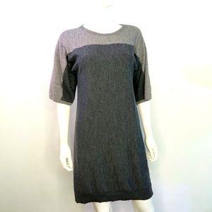 Talbots Merino Wool Grey Dress
